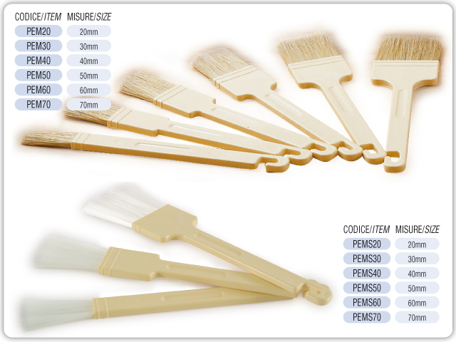 Professional pastry  brushes